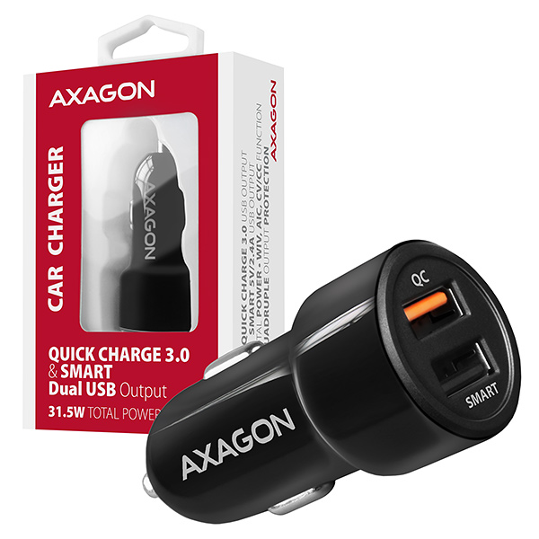 PWC-QC5 QC3.0 + 2.4A car charger