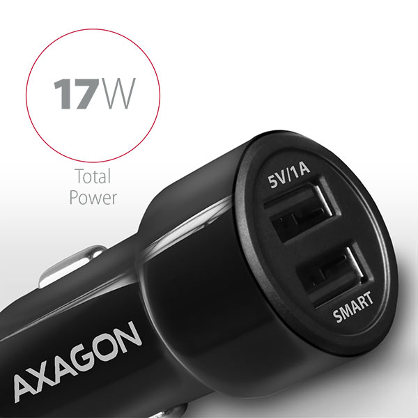 PWC-5V3 2.4A + 1A car charger