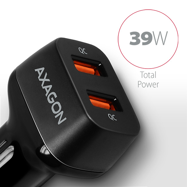PWC-DQC 2x QC3.0 car charger