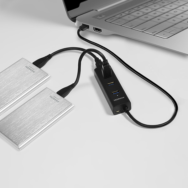 HUE-S2B SuperSpeed USB CHARGING hub