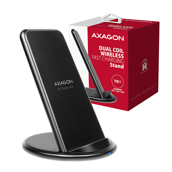 WDC-S10D Dual coil Wireless Charging Stand