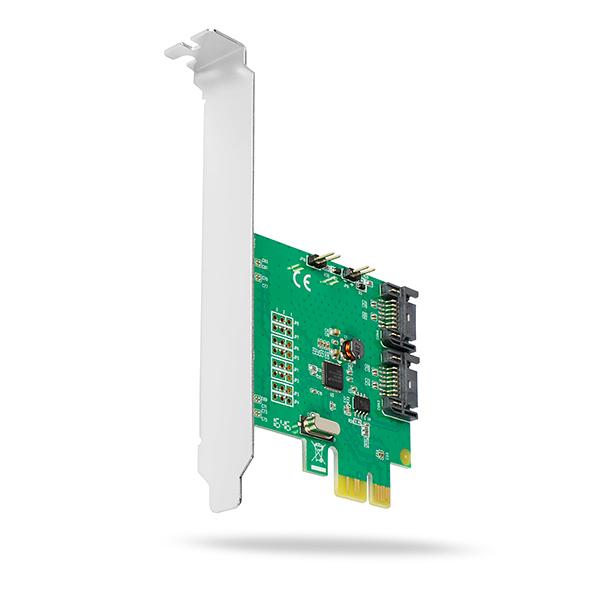 PCES-SH4 PCIe 4/2x SATA 6G controller | Axagon