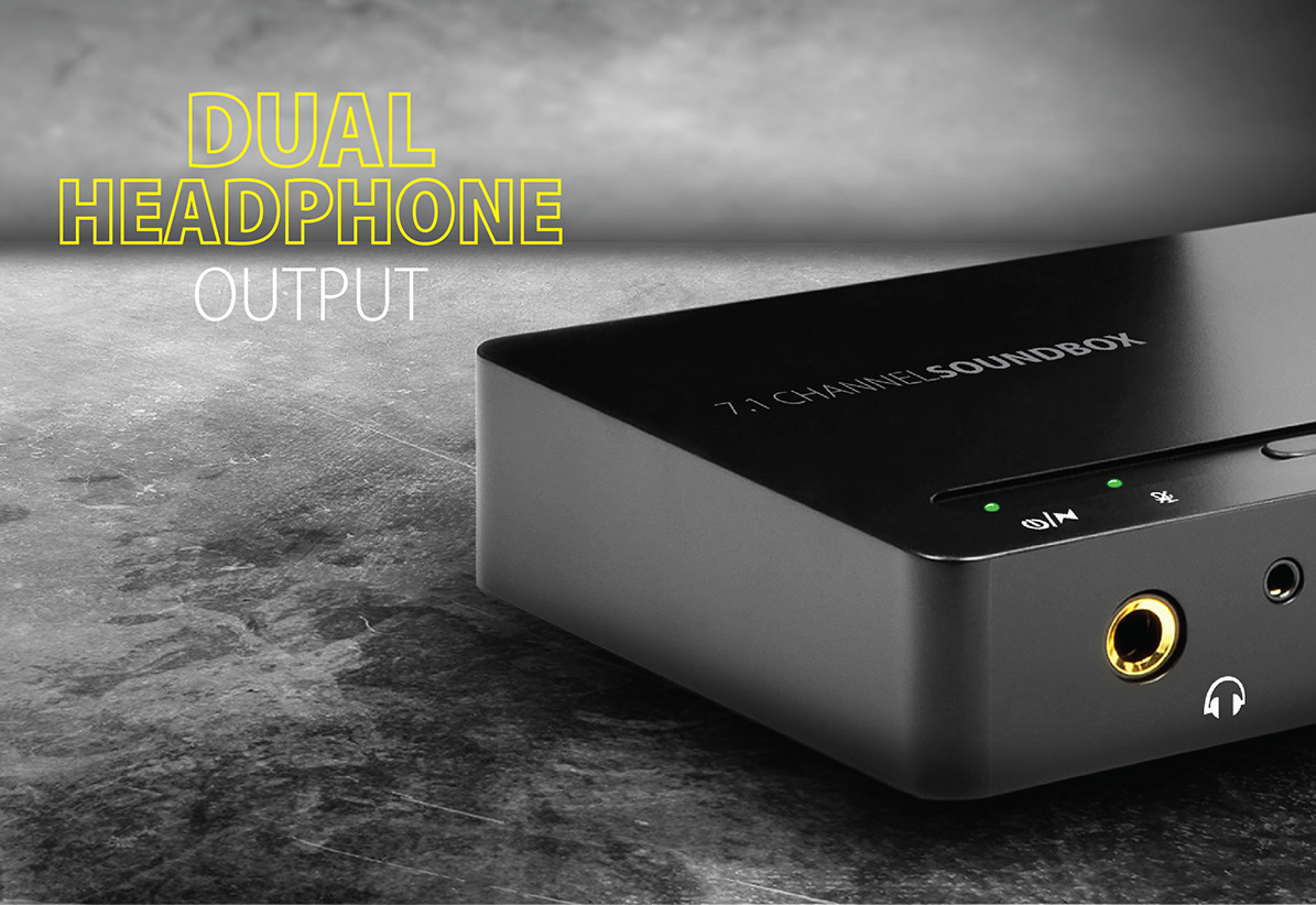 Ada 71 Usb Soundbox Axagon Cables Digital Signals And You Pt 1 The Standard 35 Mm Headphone Output Is Complemented By Extra Second With A 63 Connector Then Do Not Have To Look For